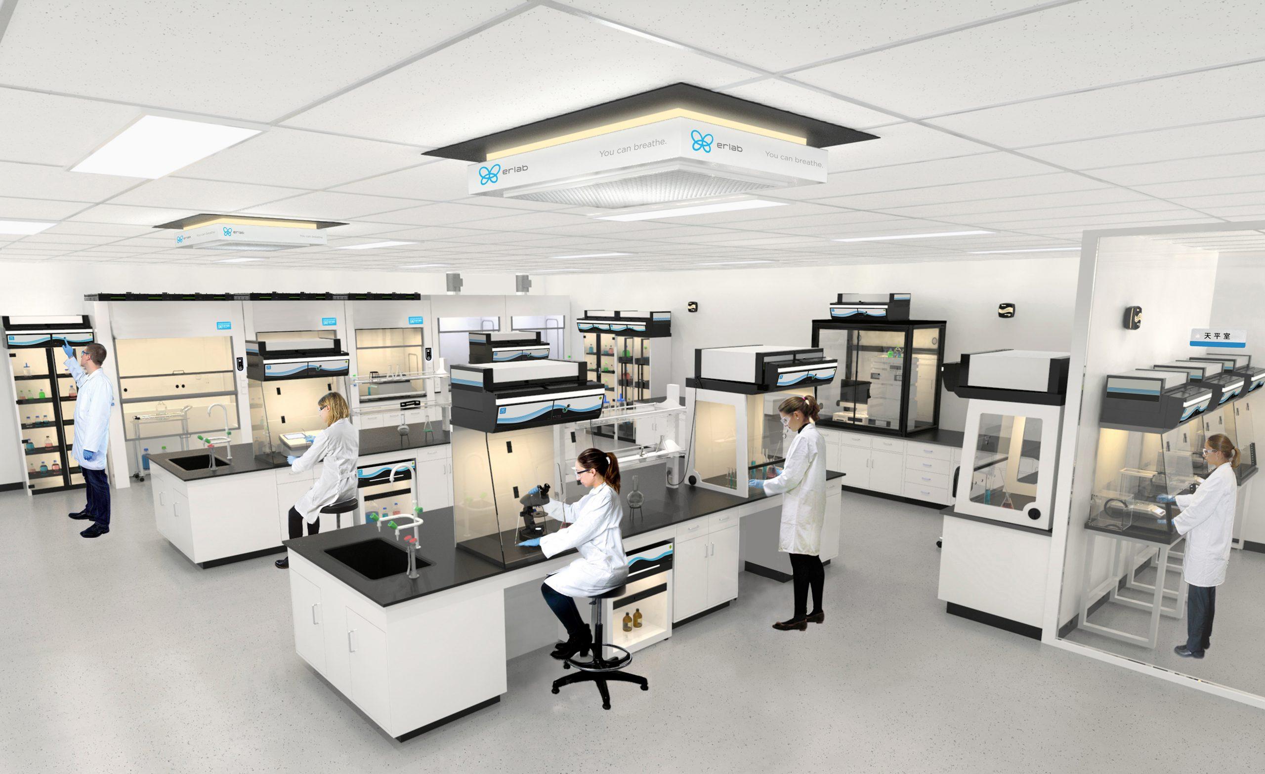 实验室规划设计趋势之一灵活性   无风管通风柜的灵活性如何实现?
